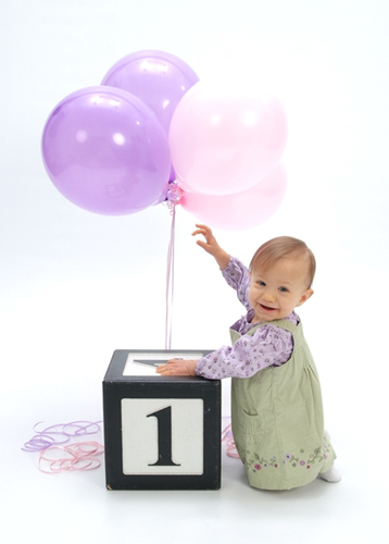 Emily, age one