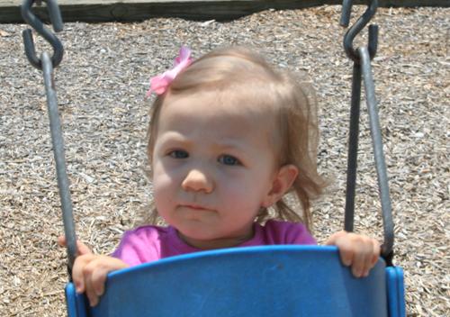 Loving to swing